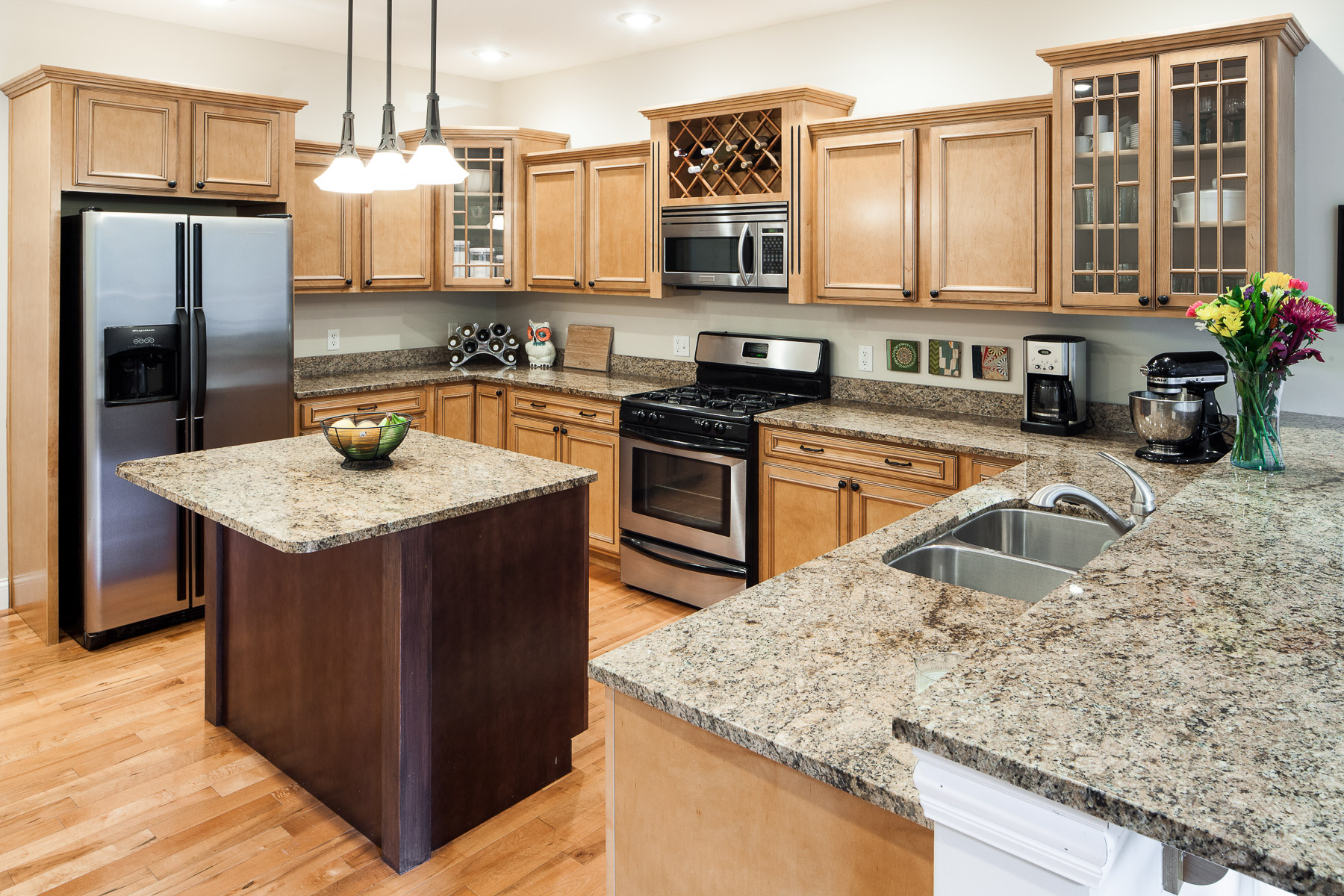 Kitchen Design Quad Cities residential architecture interior - barkley commercial photography